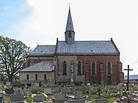 2014 Stary Paczków, kościół Wszystkich Świętych 02.JPG