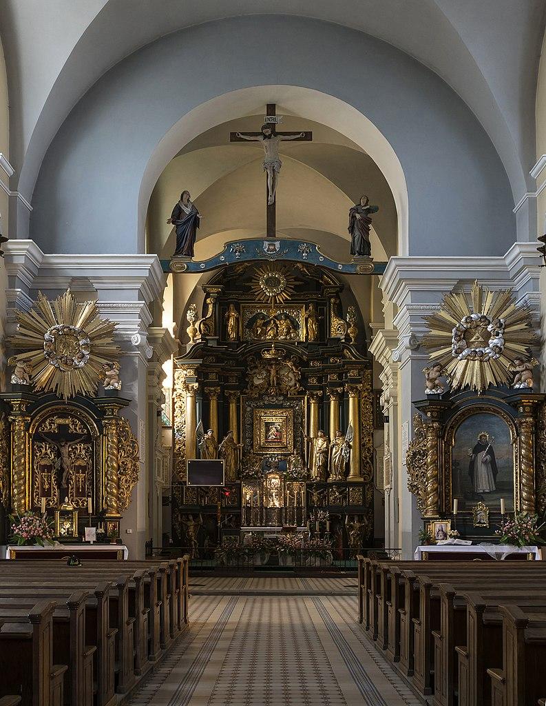 Intérieur de św. Marii Magdaleny près de Sandomierz. Photo de Jacek Halicki.