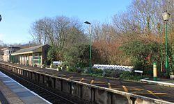 2015 at Templecombe station - old platform.JPG