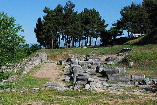 Archäologische Stätte von Philippi (UNESCO-Weltkulturerbe in Griechenland). philippoi