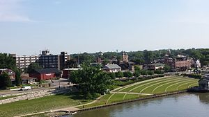 Jeffersonville, Indiana - Skyline of Jeffersonville