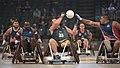 2016 Invictus Games, US Team defeats Australia in semi-final wheelchair rugby match 160511-D-BB251-001.jpg