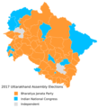 2017 Uttarakhand Assembly elections results.png