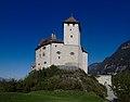 2018-10-05 Liechtenstein, Balzers, Burg Gutenberg (KPFC) 04.jpg