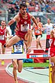 2018 DM Leichtathletik - 3000 Meter Hindernislauf Maenner - Patrick Karl - by 2eight - 8SC0347 (cropped).jpg