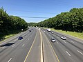 2019-07-16 09 36 44 View south along Interstate 95 (John F. Kennedy Memorial Highway) from the overpass for Old Joppa Road in Joppatowne, Harford County, Maryland.jpg