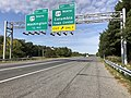 2019-09-23 10 10 55 View west along Maryland State Route 32 (Patuxent Freeway) at Exit 16A (U.S. Route 29 NORTH, Columbia Town Center) in Columbia, Howard County, Maryland.jpg