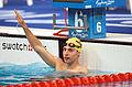 211000 - Swimming 200m medley SM8 Ben Austin silver waves - 3b - 2000 Sydney event photo.jpg