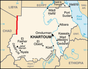 24th meridian east - The 24th meridian defines part of Sudan's borders with Libya and Chad.