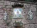 290 Montserrat, camí dels Degotalls, plafó ceràmic de la Mare de Déu del Tura.JPG