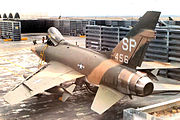 355th TFS North American F-100D-85-NH SuperSabre 56-3456 TuyHoa AB RVN 1969