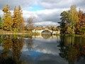 371. Гатчина. Дворцовый парк. Белое озеро. Горбатый мост.JPG