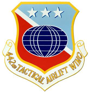 442nd Fighter Wing - Image: 442 Tactical Airlift Wg emblem