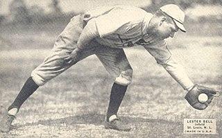 Les Bell American baseball player