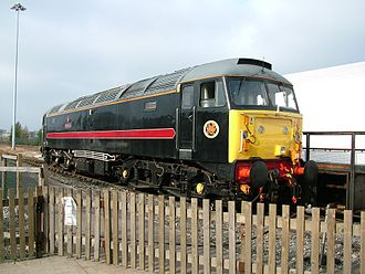 FM Rail - 47715 at the National Railway Museum, York in October 2005