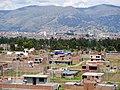 5 Imagen Panomarica del Distrito de Huamancaca Chico, Huancayo de fondo.jpg
