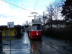Strecke der Straßenbahnstrecke 60 (Wien)
