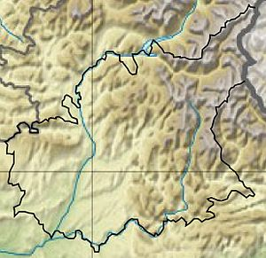 Alpes-de-Haute-Provence - Hydrology and Topography