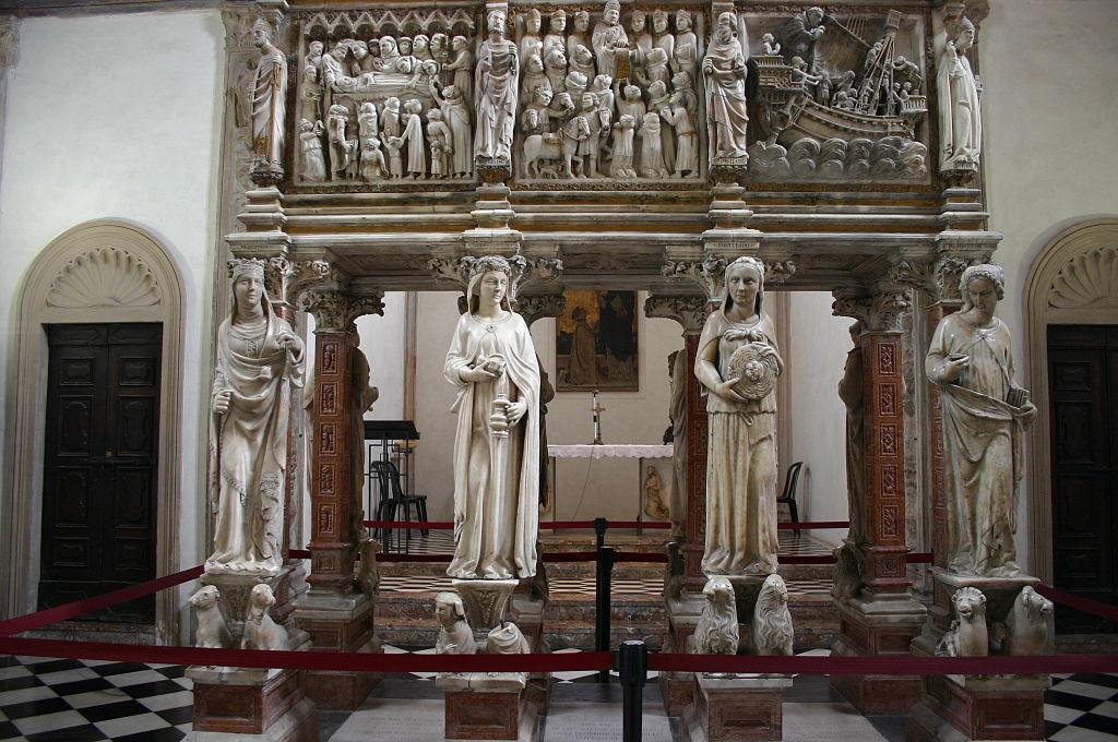 6231 - Milano - Sant'Eustorgio - Arca di S. Pietro Martire - Foto Giovanni Dall'Orto 1-Mar-2007.jpg
