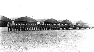 638th Aero Squadron - 638th Aero Squadron formation at Colombey-les-Belles Airdrome, France
