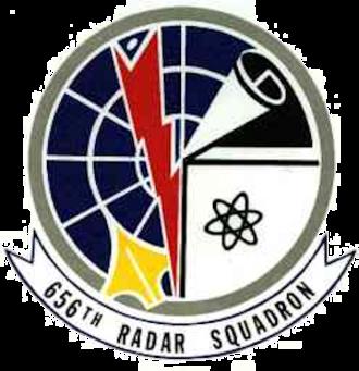 Saratoga Springs Air Force Station - Emblem of the 656th Radar Squadron