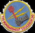 720th Bombardment Squadron - SAC - Emblem.png