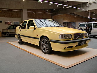 Volvo R - The 1995 Volvo 850 T5-R was the first Volvo branded with the R marque.