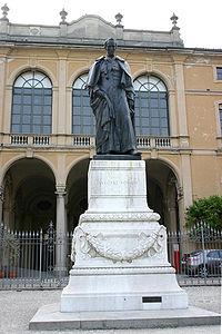 9350 - Milano - Giardini Pubblici - Monumento ad Antonio Rosmini - Foto Giovanni Dall'Orto 22-Apr-2007