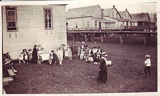 Harrison Mills, British Columbia - An event at Harrison Mills, c. 1910