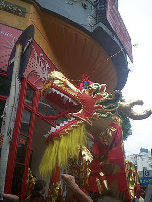 Asian Argentines - Chinese New Year celebration in Buenos Aires' Chinatown