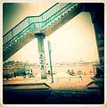 A-POIS Giuditta Nelli - Senegal 2012 - Dakar, Shot on the move Crossing stairs.JPG