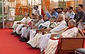 A.P.J. Abdul Kalam, the Vice President, Shri Bhairon Singh Shekhawat, the Prime Minister, Dr. Manmohan Singh, the Speaker, Lok Sabha, Shri Somnath Chatterjee, the Chairperson, UPA.jpg