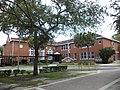 A. Quinn Jones Center school flagpole.JPG