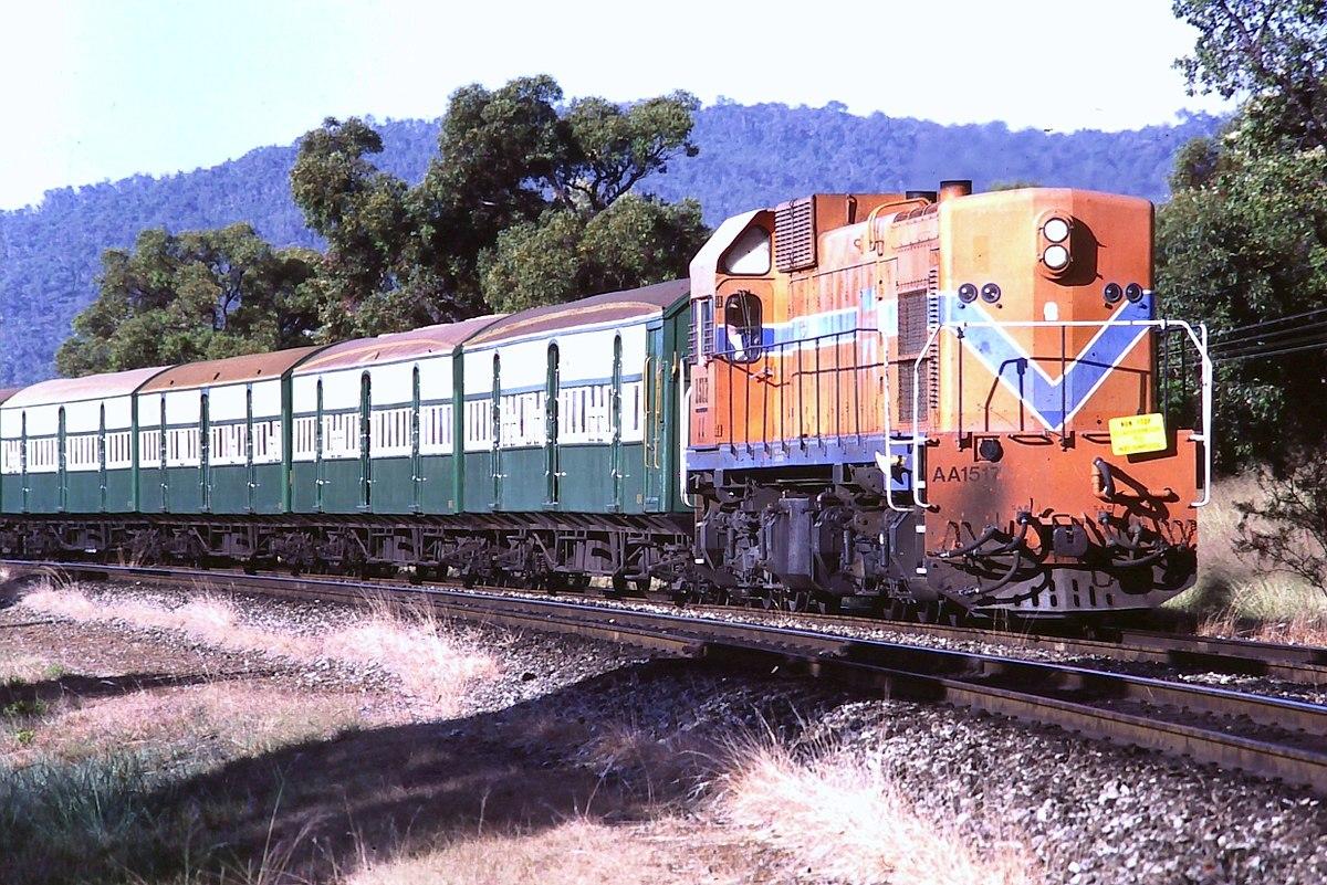 Electro Motive Diesel >> WAGR A class (diesel) - Wikipedia