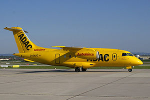 ADAC - Fairchild Dornier 328JET Jet flying for the ADAC