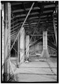 ATTIC DETAIL, VIEW FROM NORTH TO SOUTH - Old Customs House, King at Sixth Street, Wilmington, New Castle County, DE HABS DEL,2-WILM,47-5.tif