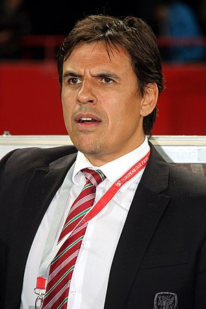 Chris Coleman (footballer) - Coleman with Wales in 2016