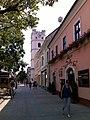 "A Csonkatemplom és a Belga Söröző (The ""Truncated Church"" and the Belgian Beer Cafe) - panoramio.jpg"