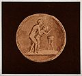 A Graeco-Roman coin depicting sexual intercourse between a m Wellcome V0038922.jpg