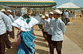 "A Panamanian ""Folklorico"" dancing group performs for the guests in La Mesa, Panama, on March 8, 2005, during the Opening Ceremony of New Horizons 05 050308-A-GR704-036.jpg"
