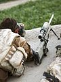 A Sniper Observing From a Roof in Afghanistan MOD 45149821.jpg