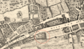 A fragment of Roque's map (1746) showing the location of Whitechapel Mount.png