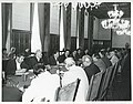 A large group of men seated at tables during the House delegation trip to USSR, Romania, Yugoslavia.jpg