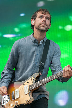 Aaron Dessner - Dessner of The National at Way Out West in Gothenburg, Sweden, August 2014