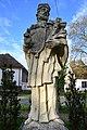 Abda, Nepomuki Szent János-szobor 2021 08.jpg