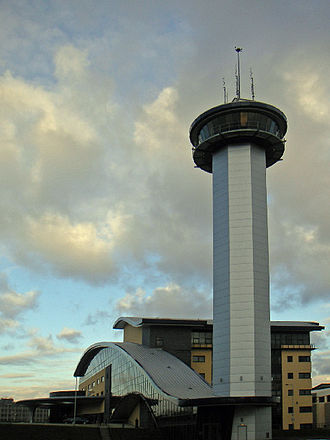 Aberdeen Exhibition and Conference Centre - Image: Aberdeen Exhibition & Conference Centre (and Tower)