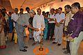 Abhoy Nath Ganguly - Inaugural Lamp Lighting - Atanu Ghosh Solo Exhibition - Kolkata 2014-09-16 8105.JPG