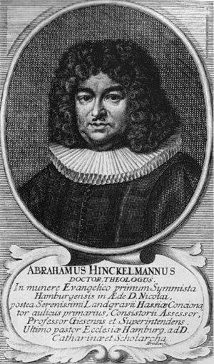 Abraham Hinckelmann - Abraham Hinckelmann