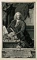 Abraham Vater. Line engraving by J. M. Bernigeroth, 1752. Wellcome V0005995.jpg