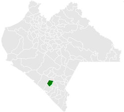 Municipality of Acacoyagua in Chiapas